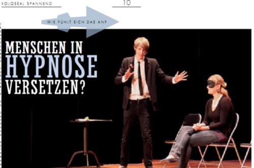 Interview über Hypnose in München