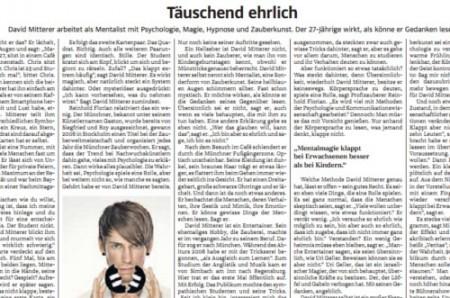 Artikel SZ Portrait München