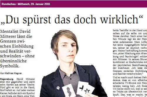 Rundschau Interview